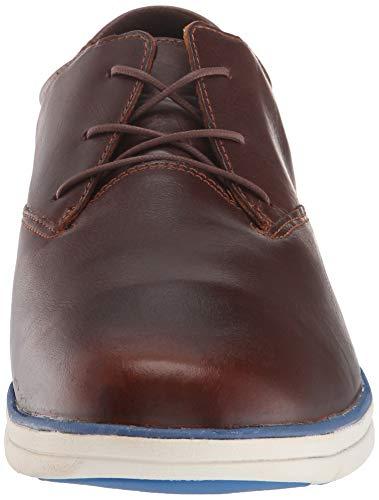 Veg Plain Sensorflex Ginger Marrón para Timberland Euro Toe de Bradstreet Zapatos Oxford Glazed Cordones Hombre 65xCqwx