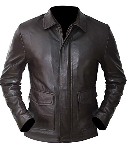 III-Fashions Indiana Harrison Brown Ford Leather Jacket