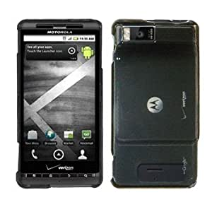 Cbus Wireless Crystal Smoke Snap On 2 pieces Hard Case / Cover / Shell for Motorola Droid X / MB810 / Droid X2 / MB870