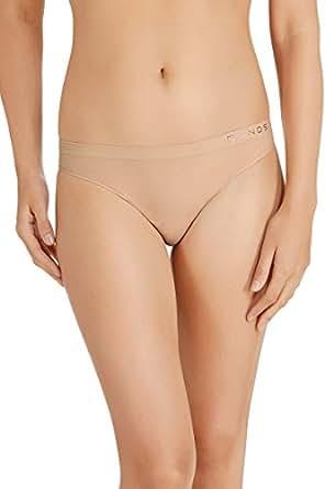 Bonds Women's Cotton Rich Comfytails Side Seamfree Gee, Base Blush, 10