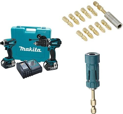 Makita B-35112 Impact Gold Torsion Magnetic Insert Bit Set 11-Piece Teal