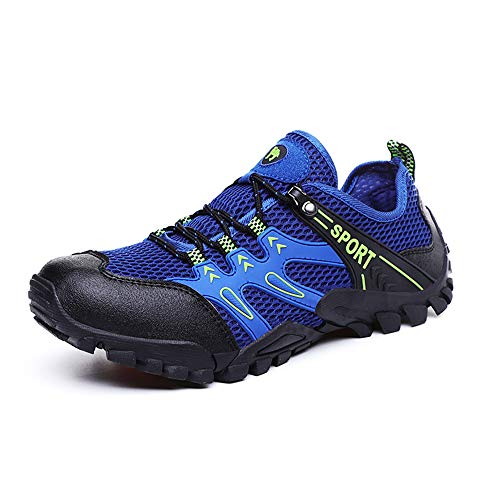 N.Y.L.A. Mountain Bike Sneakers, Men's and Women's Lightweight Lock-Free Riding Shoes, Breathable Non-Slip Hiking Shoes, Suitable for Outdoor Sports Riding ZDDAB