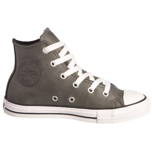 Converse - Zapatillas de cuero para niño negro gris negro - gris