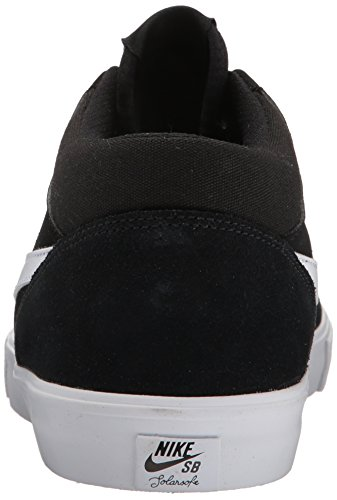 NIKE Mens SB Portmore II Solar Mid Skate Shoe Black White sale 100% original cheap manchester great sale for sale the cheapest 3T954rt