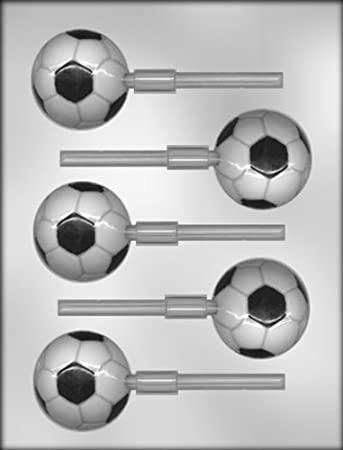 CK Products 2 balón de fútbol con ventosa Chocolate molde por CK ...