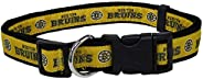 Pets First BRU-3036-LG Boston Bruins Collar, Large
