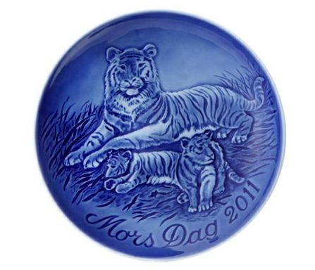 Royal Copenhagen Mothers Day Plate - 2011 Bing and Grondahl Mothers Day Plate,
