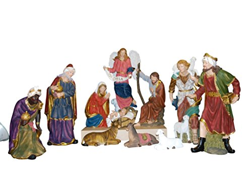 The Nativity of Jesus Christ Life Size 11 Piece Statue Set