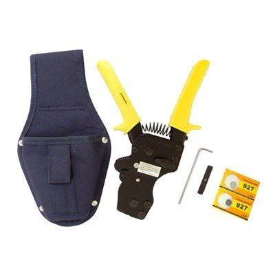 - One-hand PEX Clamp Tool w/ Holster for St. Steel PEX Clamps