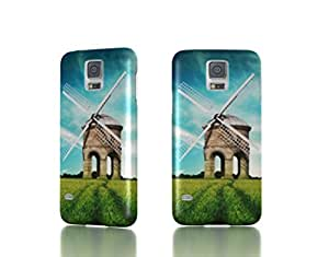 Superb Windmill - Samsung Galaxy S5 i9600 Back Cover Case - Full Wrap Design