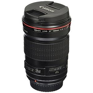 RetinaPix Canon EF 135mm F/2L USM Prime Lens for Canon SLR Camera