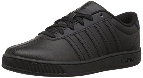 K-Swiss Baby Classic Pro Sneaker, Black, 8 M US Toddler