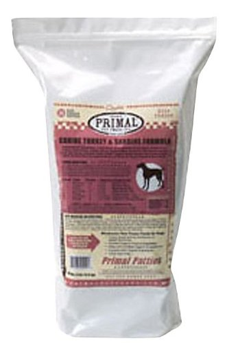 Primal Canine Raw Frozen Turkey & Sardine Formula - 6lb