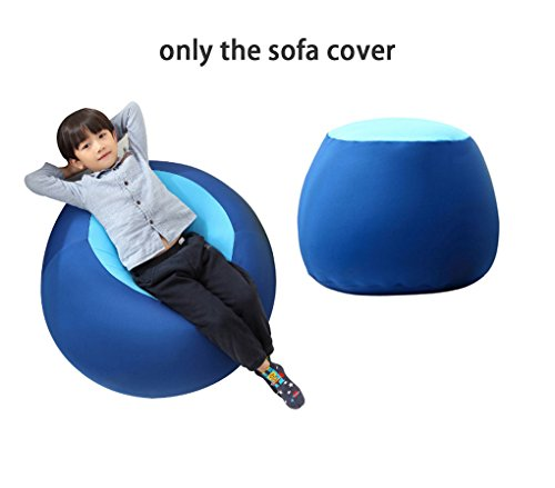Price comparison product image Quwei ChildrenComfortable Leisure Creative Chair Seat Sofa Bean Bags Sofa Sets (blue)