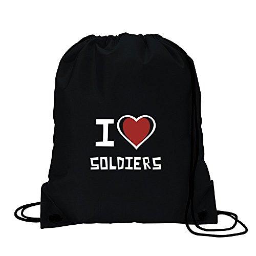 I love Soldier Sport Tasche