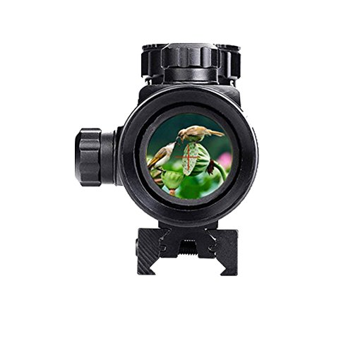 dtit 1x40RD The Red Dot Sight Infrared Camera Red Rifle Sight Scope for 11mm/20mm by dtit