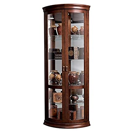 Howard Miller Chancellor 680 503 Corner Curio Cabinet