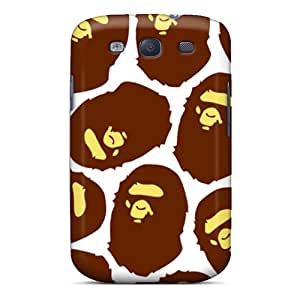 Bumper Hard Phone Case For Samsung Galaxy S3 With Custom Realistic Bape Series JonBradica