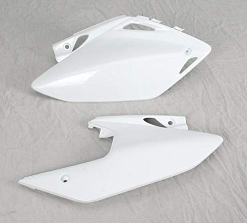 - UFO HO04601-041 Replacement Plastic (FOR HONDA PANEL SIDE CRF450X WHITE)