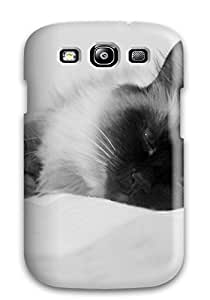 For Qnzbazq661vlrBc Cat Felines Animal Cat Protective Case Cover Skin/galaxy S3 Case Cover