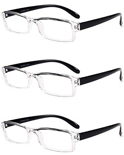 1 Presbicia 3 2 0 2 Gafas Sin Aire 3 Graduadas Lentes de 5 Vista 5 Montura Transparentes Al VEVESMUNDO de 0 1 Ligeras negro Estrechas Mujer Leer 0 3 5 Gafas Lectura Aros Hombre Set 4 0 164xfqp