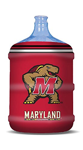 NCAA Maryland Terrapins Propane Tank Cover/5 Gal. Water Cooler Cover, Red