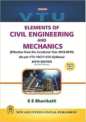 Buy Elements of Civil Engineering and Mechanics (As per latest VTU