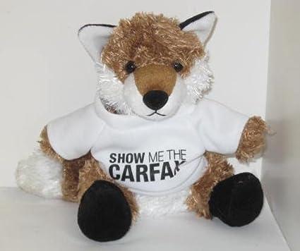 Amazon Com Carfax Fox Plush Wearing A T Shirt Vehicle History