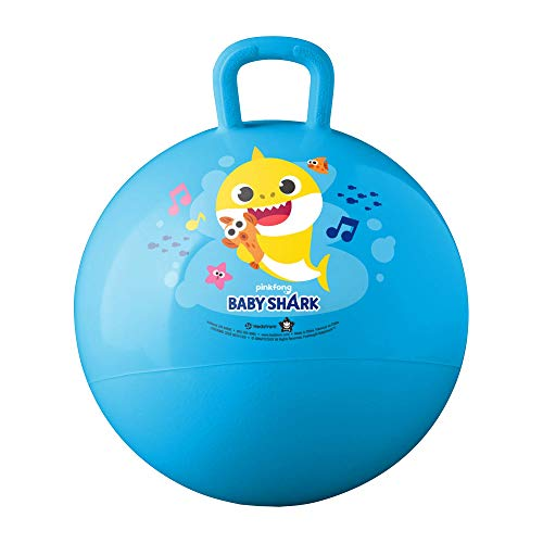 Hedstrom Baby Shark Hopper Ball, Hop Ball for Kids, 15 Inch