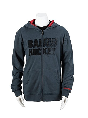 (Bauer Hockey Full Zip Hoody Youth Medium)
