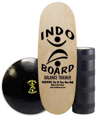 577070fdfcb INDO BOARD Pro Training Package Balance Board Designed for Tall Riders Over  6 Feet for Fitness Training, Surf Training, or Just Having Fun - 3 Color  Choices