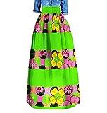 Womens Highwaist Plus Size Dashiki Africa Fashion Long Skirt 6 5XL