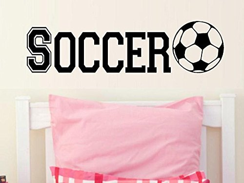 Make Varsity Soccer (varsity Soccer decal wall decal kids kids decor nursery decal sport decal boy decal home decor decal men wall decal living room decal girls)