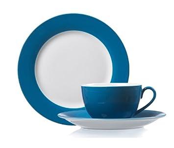 Ritzenhoff Breker Doppio Erweiterungsgedeck U0026AMP; Coffee Set Petrol  Blue Flirt