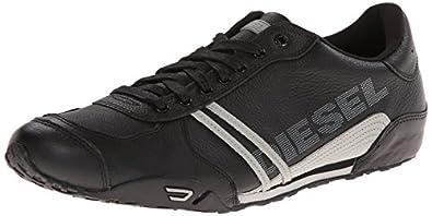 Amazon.com: Diesel Men's Harold Nylon/Leather Fashion ...