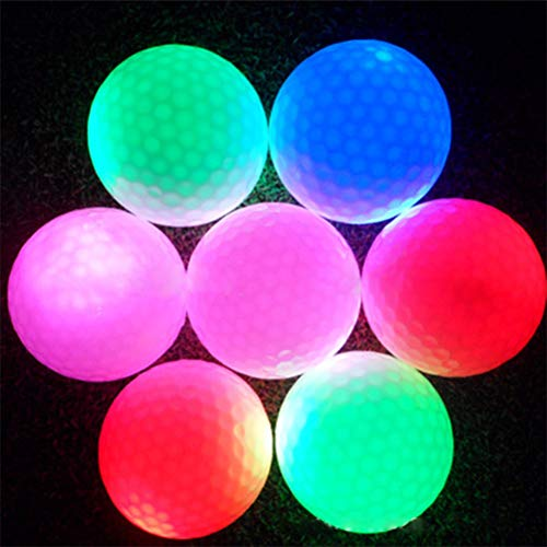 Phayee Bolas de Golf con luz LED, Pelota de Golf Nocturna, Pelotas ...