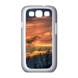 Sunset 185 Samsung Galaxy S3 Cases, Samsung Galaxy S3 Case I9500 Girly Protective Okaycosama - White