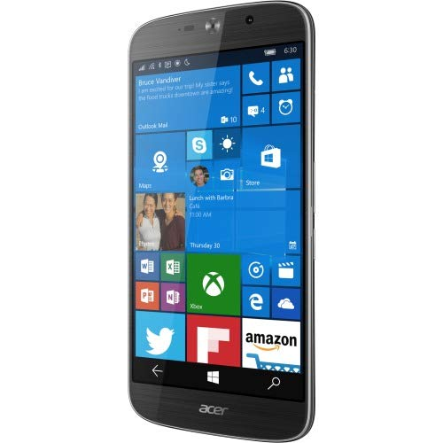 Acer Jade Primo 32GB Unlocked GSM 4G LTE Hexa-Core Windows Phone w/ 21MP Camera - Black (Business Bundle)