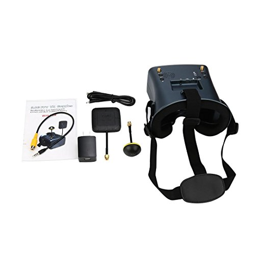 LS-008D 5.8G FPV Googles 40CH With 2000mA Battery DVR Diversity For RC - Directional Diversity Antenna