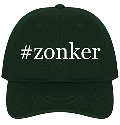 The Town Butler #Zonker - A Nice Comfortable Adjustable Hashtag Dad Hat Cap, Forest