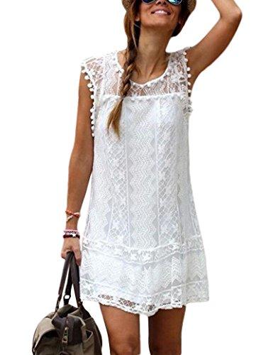 Abbigliamento donna elegante pizzo Beach