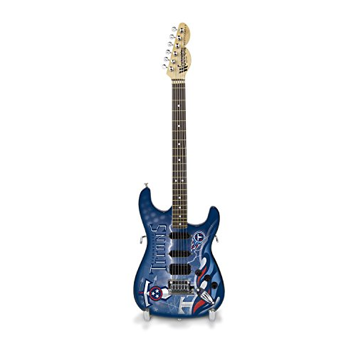Woodrow Guitar by The Sports Vault NFL Tennessee Titans Collectible Mini NorthEnder Guitar