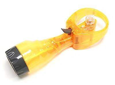 DLUX Water Misting Fan Handheld Battery-Operated (Orange)
