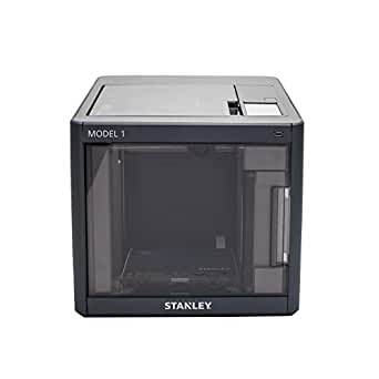 STANLEY Model 1 3D Printer, Heated Printer Bed, Carbon Filter, Assisted Bed Leveling, WiFi Connected Compatible with Sindoh PLA/ABS Filament