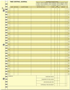 EGP Time Control System - Journal Sheet by EGPChecks (Image #1)