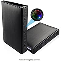 NexGadget 1080P HD Book Camera with Motion Detection, Night Vision, Video Recorder, Snapshot (black)
