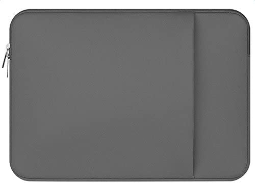 Topdo Estuche portátil para computadora portátil 15.6 Pulgadas Estuche para Laptop para MacBook Air/MacBook Pro/Laptop – Gris: Amazon.es: Electrónica
