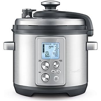 Breville RM-BPR700BSS Pressure Cooker, Silver