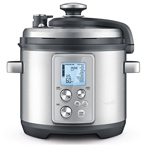 Breville RM-BPR700BSS Pressure Cooker, Silver (Certified Refurbished)