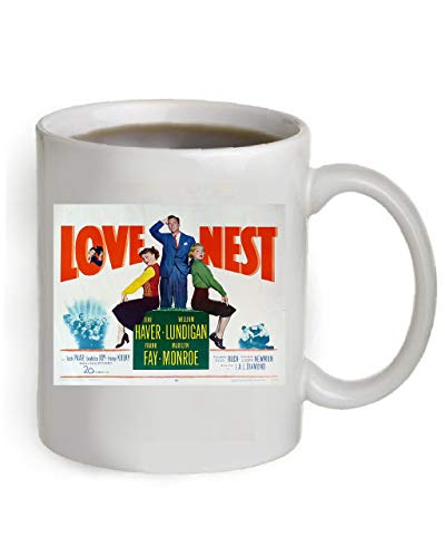 - Love Nest Movie Poster Coffee Mug By Ariel's Collection #A184